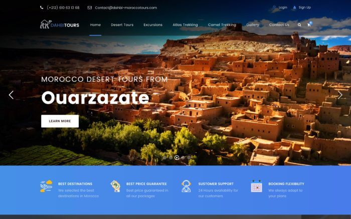 creation de site web maroc