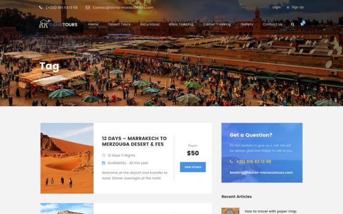 Dahbi Morocco Tours - IKER.MA