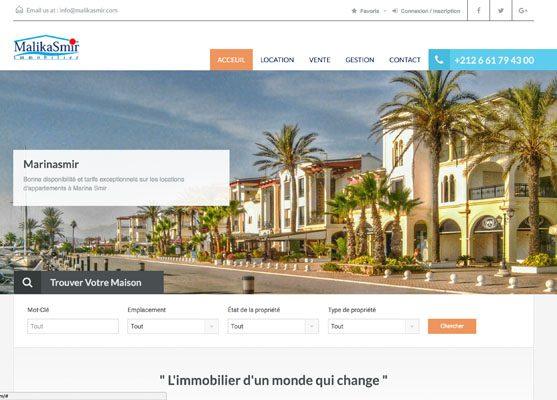 creation de site web maroc