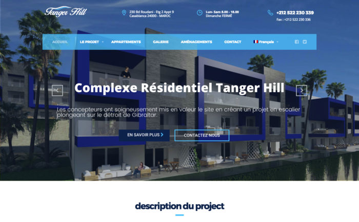 Résidence Tanger Hill - IKER.MA