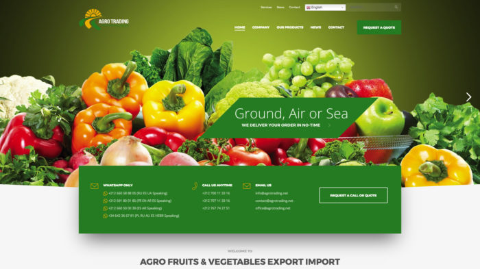 Agro Trading - IKER.MA