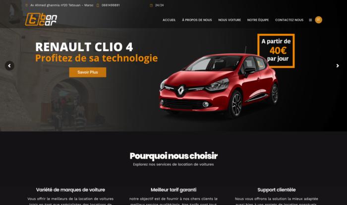Boncar - Car Rental - IKER.MA