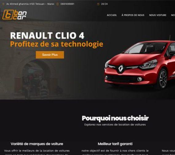 Creation site web Boncar