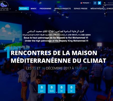 Creation site web MMDC